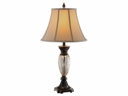 Stein World 98305 TEMPE CRACKLE GLASS LAMP