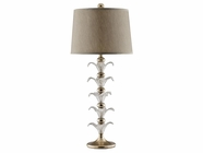 Stein World 98314 BRYNN FLORAL GLASS LAMP