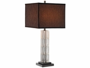 Stein World 99680 Glass Column Table Lamp