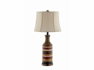 Stein World 99681 Stripped Ceramic Table Lamp