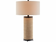 Stein World 99684 Blyton Rope with metal table lamp
