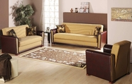 Sunset ALFA SOFA and LOVESEAT REDEYEF MUSTARD
