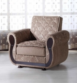 Sunset ARGOS ARMCHAIR BEGUM BROWN