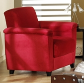 Sunset ASPEN ARMCHAIR RAINBOW RED