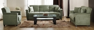 Sunset ASPEN SOFA and LOVESEAT RAINBOW SAGE