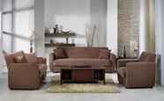 Sunset ASPEN SOFA and LOVESEAT RAINBOW TRUFFLE