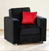 Sunset ELEGANT ARMCHAIR RAINBOW BLACK