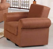 Sunset ELITA S RELAX ARMCHAIR RAINBOW BROWN