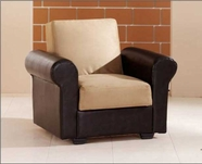 Sunset  ENEA RELAX ARMCHAIR RAINBOW DARK BEIGE