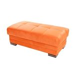 Sunset KUBO OTTOMAN RAINBOW ORANGE