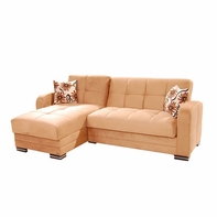 Sunset Kubo Sectional Rainbow Dark Beige