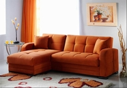 Sunset  KUBO SECTIONAL RAINBOW ORANGE