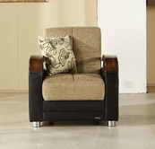 Sunset LUNA ARMCHAIR FULYA BROWN