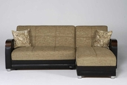 Sunset  LUNA SECTIONAL FULYA BROWN
