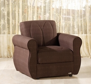 Sunset MELODY ARMCHAIR NATURALLE BROWN