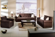 Sunset MELODY SOFA and LOVESEAT NATURALLE BROWN