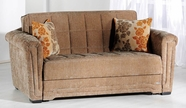 Sunset  VICTORIA LOVESEAT SLEEPER ROSALINDA BROWN