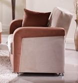Sunset  VISION ARMCHAIRRAINBOW BEIGE/BROWN