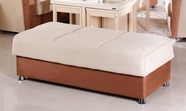 Sunset VISION OTTOMAN RAINBOW BEIGE/BROWN