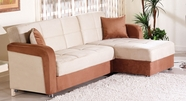 Sunset  VISION SECTIONAL RAINBOW/BEIGE BROWN