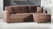 Sunset VISION SECTIONAL RAINBOW TRUFFLE