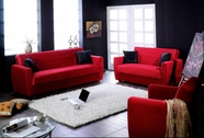 SunsetMIAMI SOFA and LOVESEAT RAINBOW RED