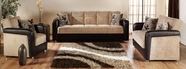 SunsetVISION SOFA and LOVESEAT BENJA LIGHT BROWN