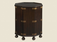 Tommy Bahama 01-0537-952 Royal Kahala Pacific Campaign Accent Table