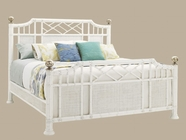Tommy Bahama 01-0543-134C Ivory Key Prichards Bay Panel Bed, 6/6 King