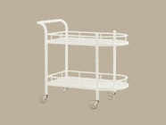 Tommy Bahama 01-0543-862 Ivory Key Warwick Tea Cart