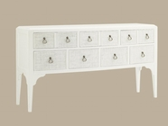Tommy Bahama 01-0543-869 Ivory Key Spanish Point Sideboard