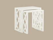 Tommy Bahama 01-0543-957 Ivory Key Stovell Ferry Nesting Tables