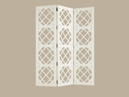 Tommy Bahama 01-0543-959 Ivory Key Abbotts Landing Folding Screen