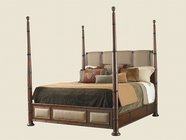 Tommy Bahama 01-0545-173C Landara Monarch Bay Poster Bed 5/0 Queen