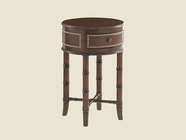 Tommy Bahama 01-0545-953 Landara Bandera Leather Accent Table