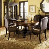 Tommy Bahama 01-0621-870C-0619-880-01 Kingstown Bonaire Round Dining Set