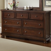 Vaughan Basset 530-002 REFLECTIONS Triple Dresser