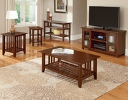 Vaughan Bassett 110-011-51 Casual Occasional Table Set Cherry Finish