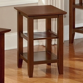 Vaughan Bassett 110-071 Casual Chairside Table Cherry Finish