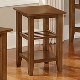 Vaughan Bassett 110-079 Casual Chairside Table Dark Oak Finish
