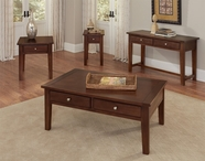 Vaughan Bassett 140-011-051 Aaron Cherry Occasional Table Set