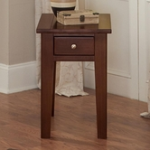 Vaughan Bassett 140-071 Aaron Cherry Chairside Table