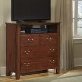 Vaughan Bassett 300-113 SIMPLY CHERRY Entertainment Center - 4 drawers