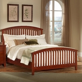 Vaughan Bassett 300-559-922-955 Appalachian Dark Cherry Queen Arched Slat Bed