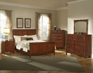 Vaughan Bassett 300-668-877-944-ms1 Appalachian Dark Cherry California King Mansion Panel Bed