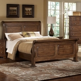 Vaughan Bassett 340-355-553-722 American Journey Queen Sleigh Bed