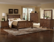 Vaughan Bassett 340 American Joruney Tobacco Bedroom Set
