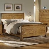 Vaughan Bassett 342-355-553-722 American Journey Queen Sleigh Bed