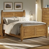 Vaughan Bassett 342-558-855-922 American Journey Queen Poster Bed