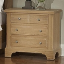 Vaughan Bassett 344-227 AMERICAN JOURNEY Night Stand - 3 Drawers